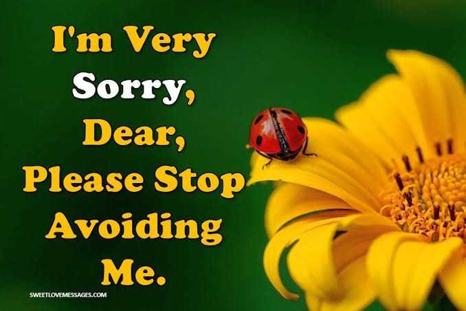 sorry smiley - I ' m Very Sorry , Dear , Please Stop Avoiding Me . SWEETLOVEMESSAGES . COM  - ShareChat