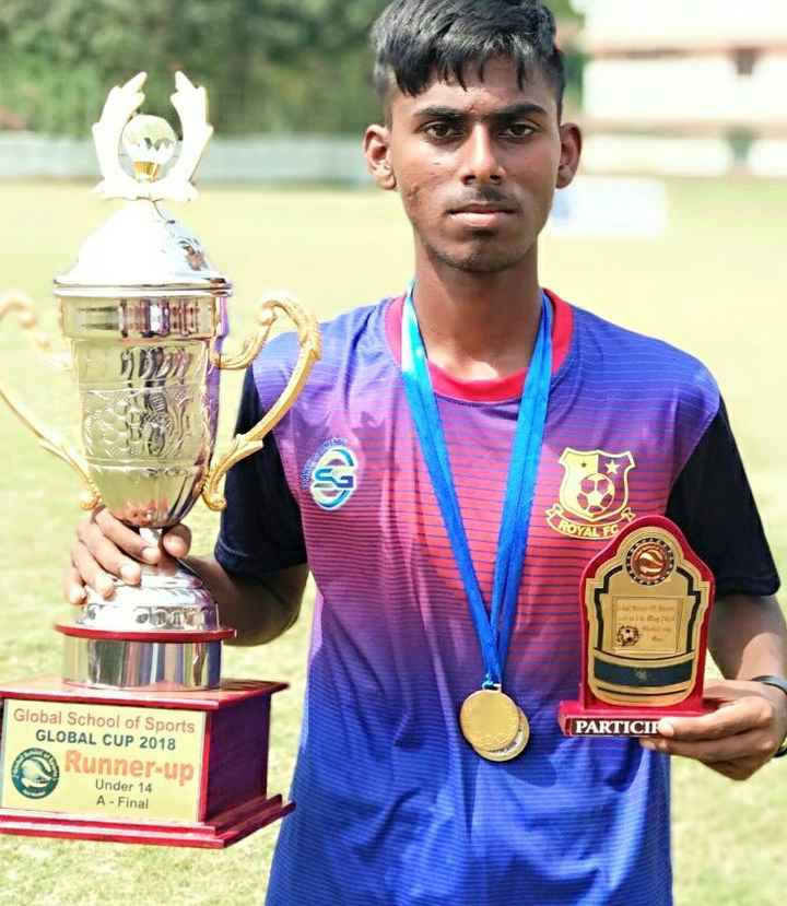 National sports day - PARTICIR Global School of Sports GLOBAL CUP 2018 Runner - up Under 14 A - Final  - ShareChat
