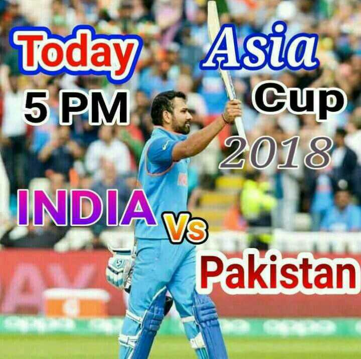 india vs pakistan 5pm - Today Asia 5 PM G Cup 2018 INDIA Pakistan  - ShareChat