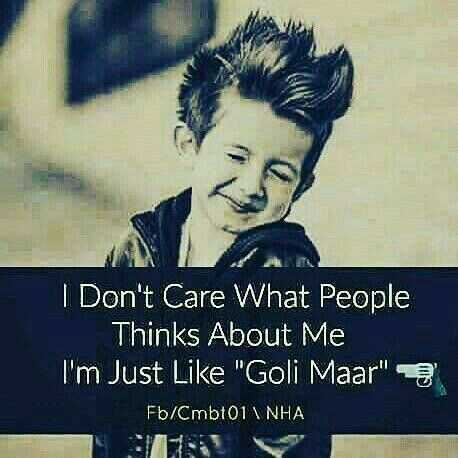 Music Instruments - I Don ' t Care What People Thinks About Me I ' m Just Like Goli Maar 3 Fb / Cmbt01 INHA  - ShareChat
