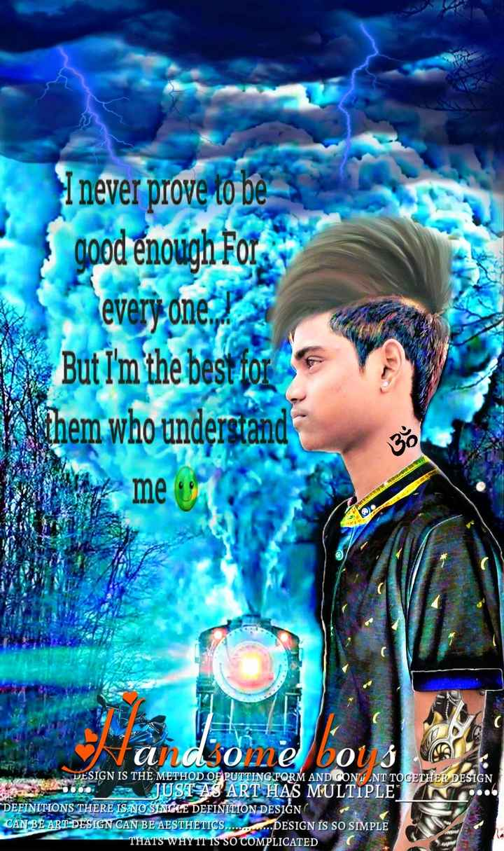 ❤️ లవ్ - I never prove to be good enough for every one . But I ' m the best for them who understand U me and one bou 3 DESIGN IS THE METHOD OF PUTTING FORM AND CONS . NT TOGETHER DESIGN OO JUSTAS ART HAS MULTIPLE DEFINITIONS THERE IS NO SINGLE DEFINITION DESIGN CAN BE ART DESIGN CAN BE AESTHETICS . . . . . . . DESIGN IS SO SIMPLE THATS WHY IT IS SO COMPLICATED  - ShareChat