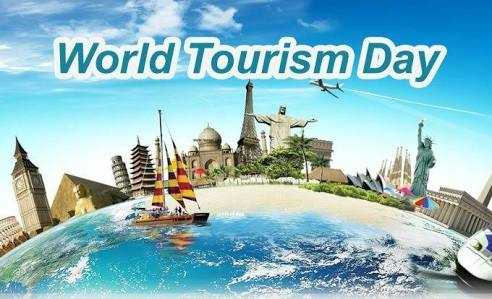 World Tourism Day - World Tourism Day ان کی بالاد  - ShareChat