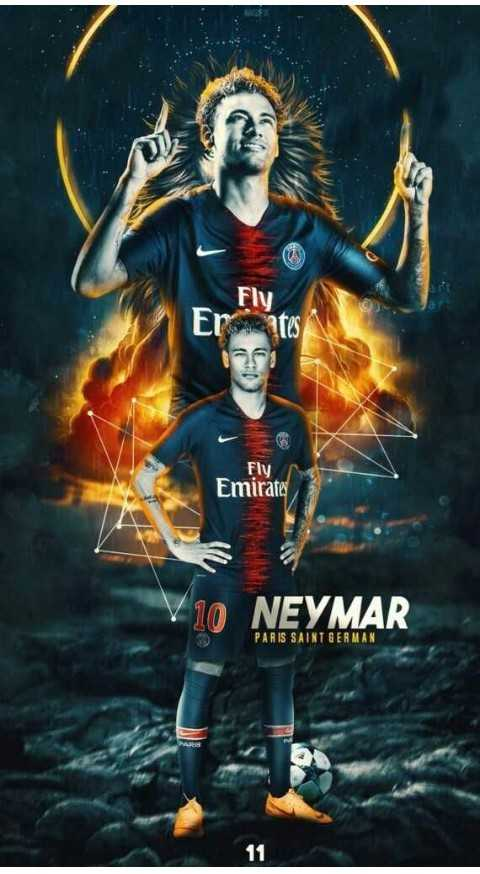 ⚽️ফুটবল - Fly Fly Emirates 10 NEYMAR PARIS SAINT GERMAN 11  - ShareChat