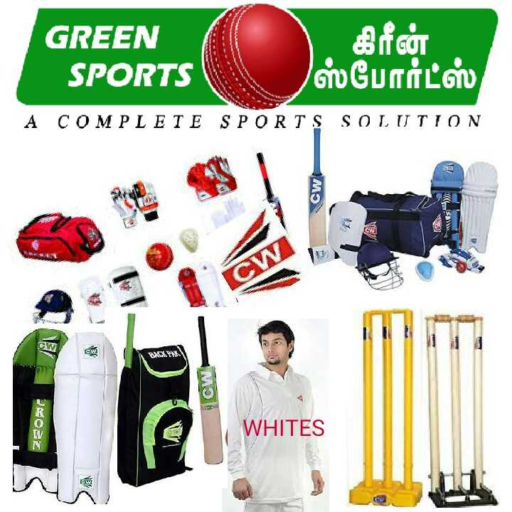 National sports day - GREEN SPORTS | கிரீன் ஸ்போர்ட்ஸ் , A COMPLETE SPORTS SOLUTION Cw SAT 28022 WHITES  - ShareChat