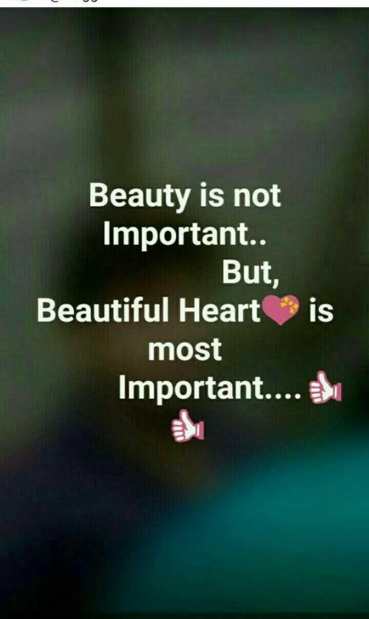 📹30 సెకండ్స్ వీడియోస్ - Beauty is not Important . . But , Beautiful Heart is most Important . . . . TI oll  - ShareChat